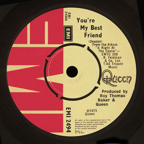 Queen You're My Best Friend Song Facts